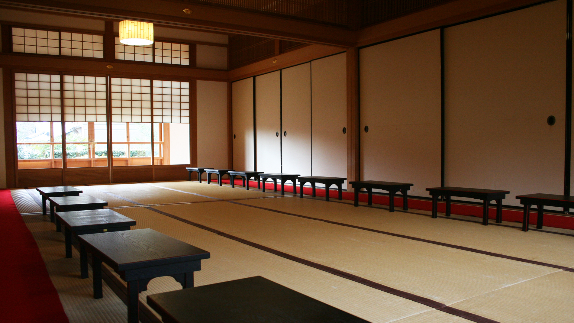 Japanese Temple Interior