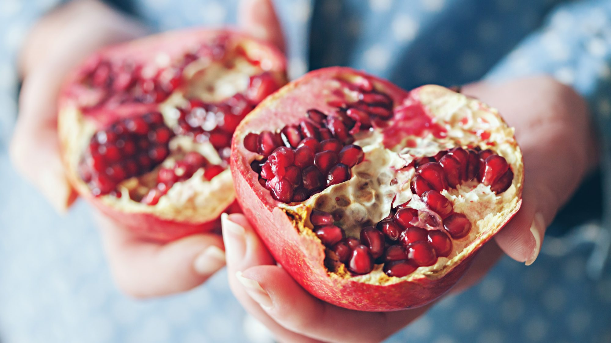 Pomegranate Anti-Aging Effects