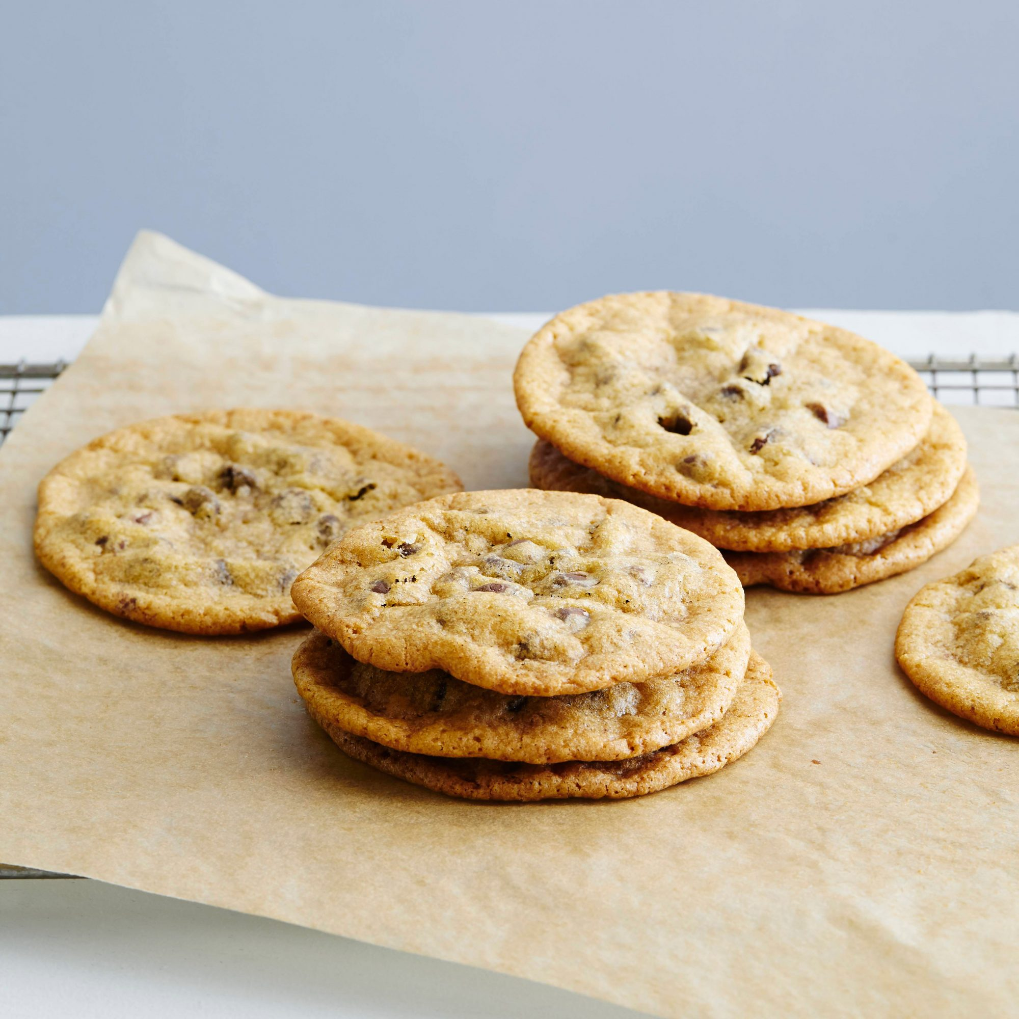 Milk-Chocolate-Chip Cookies