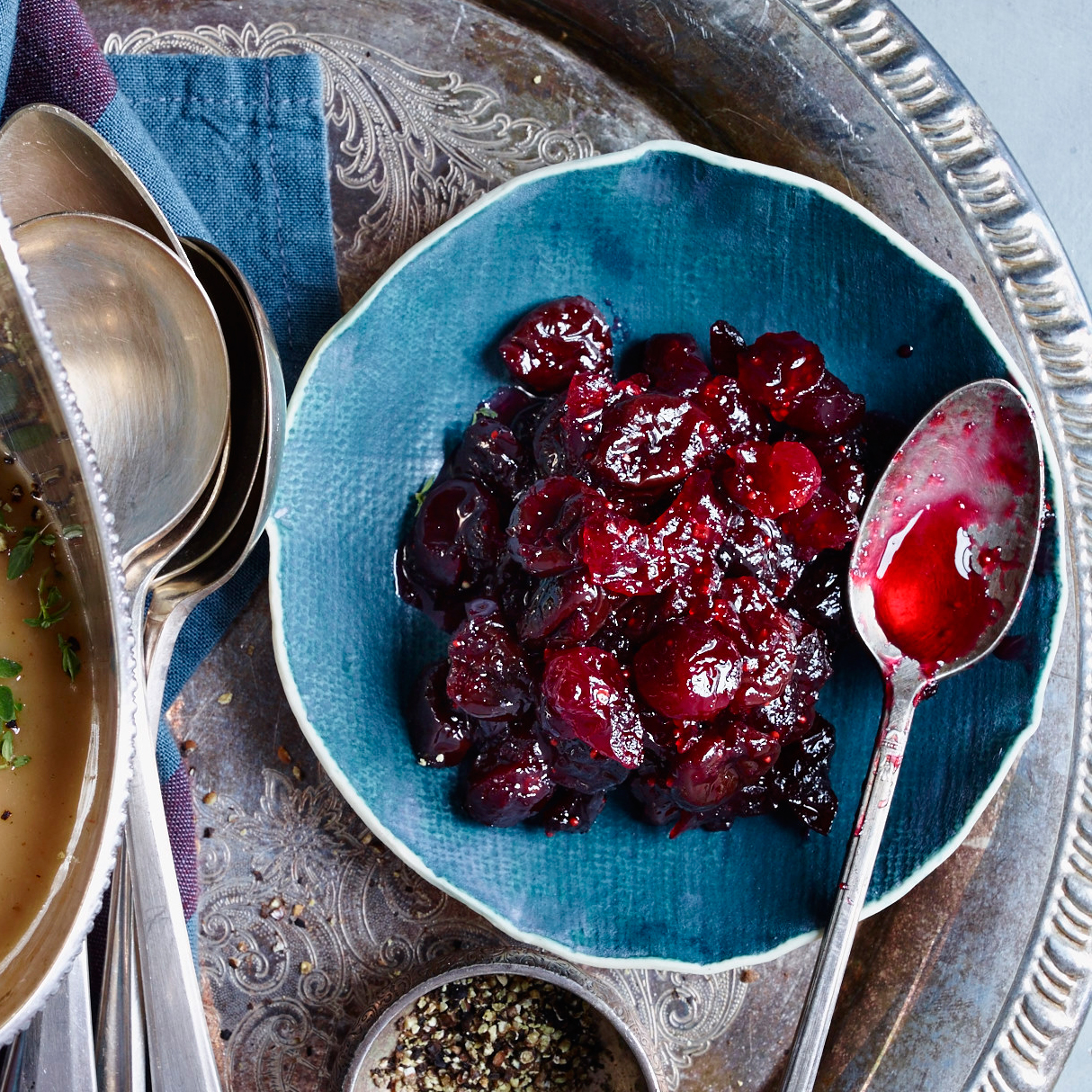 Cranberry Sauce with Dried Cherries