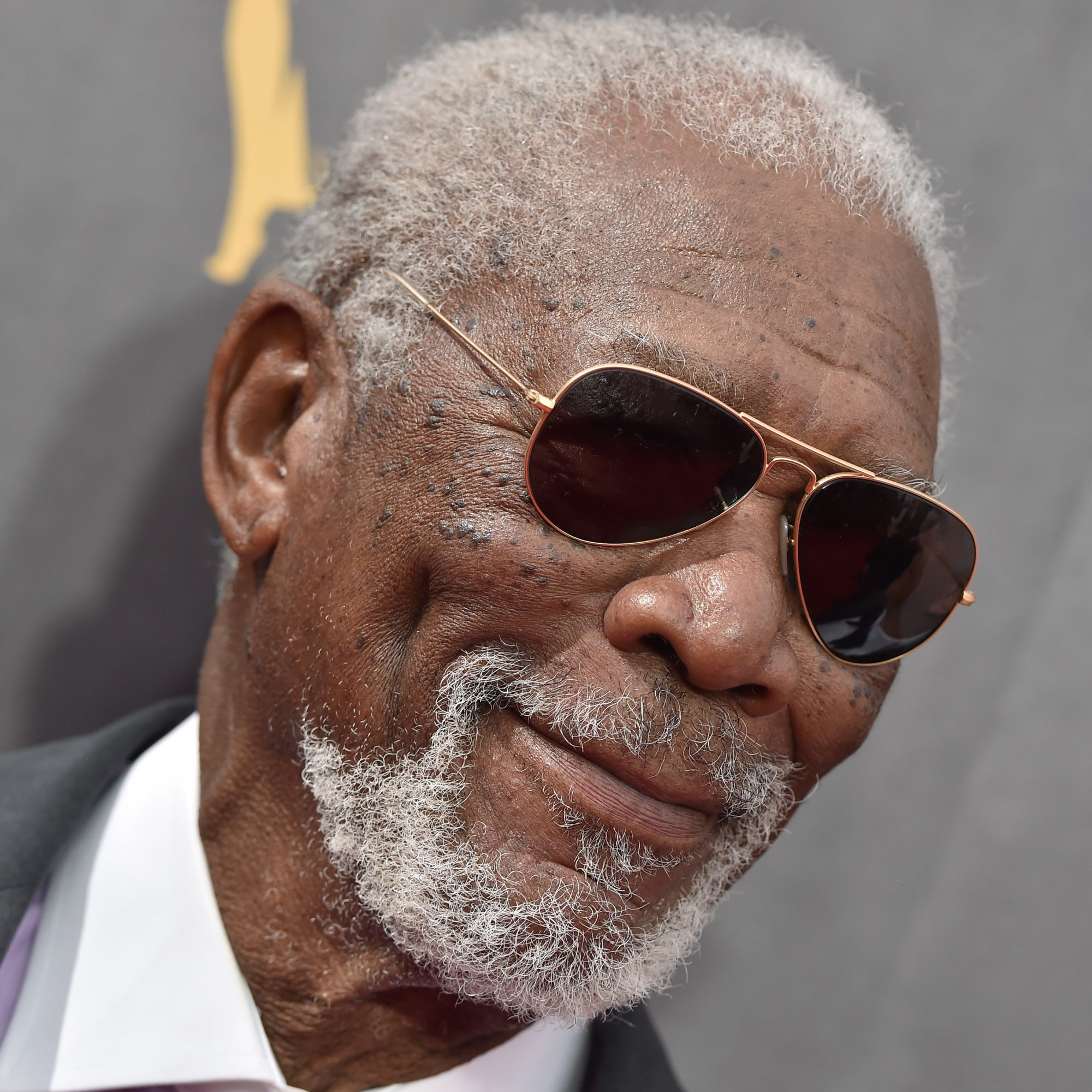 Morgan Freeman at the Creative Arts Emmys.