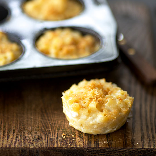 Muffin Cup Macaroni and Cheese