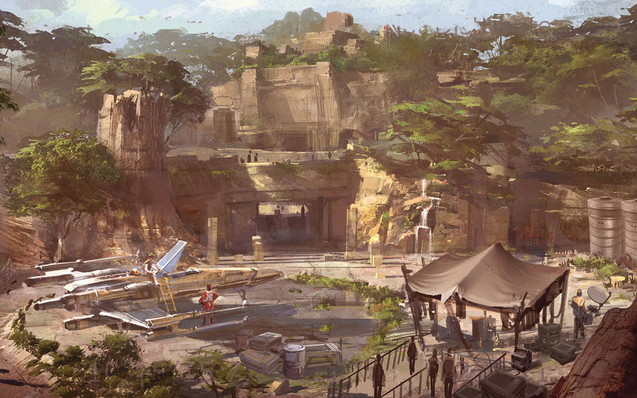 Star Wars-themed lands will be coming to Disneyland park in Anaheim, Calif., and Disney's Hollywood Studios in Orlando, Fla., transporting guests to a never-before-seen planet, a remote trading port and one of the last stops before wild space where Star