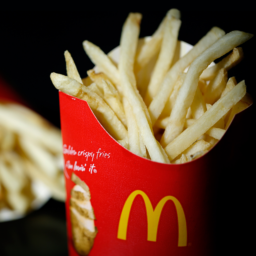 ALL YOU CAN EAT MCDONALDS FRIES FWX