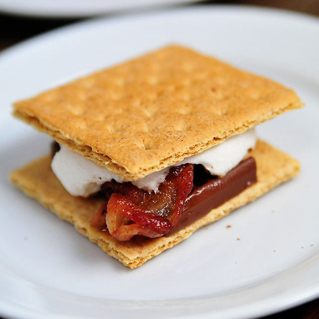 S'mores, Bacon, Marshmallow