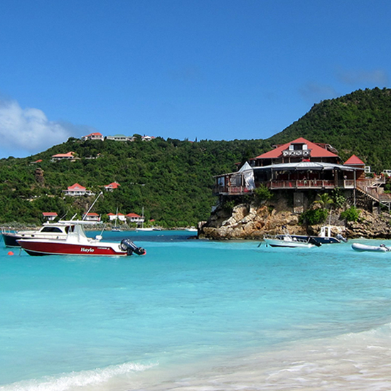 Best for People Watching: Baie de St. Jean (St. Barts, French West Indies)