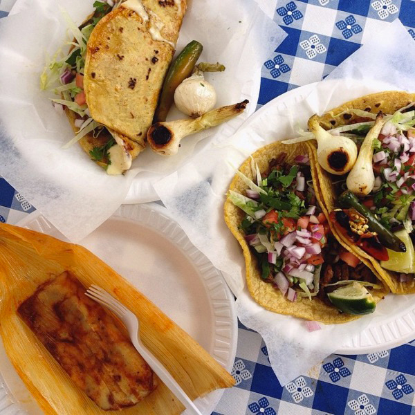 BEST TACOS IN CHICAGO RUBIS MAXWELL STREET FWX