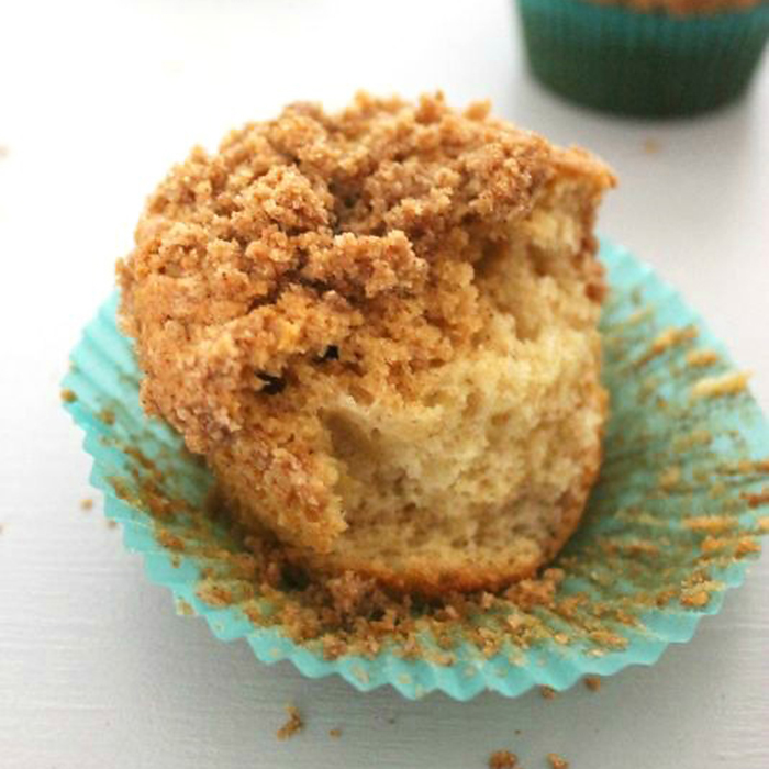 Cookie Butter Coffee Cake Muffins