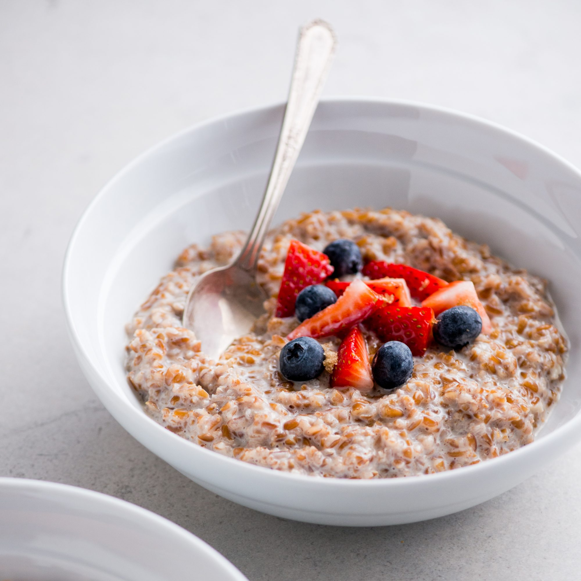 Brown Sugar and Cinnamon Bulgur Breakfast Bowl