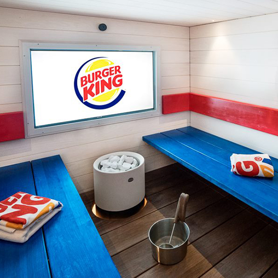 Burger King Spa, Restel, Finland