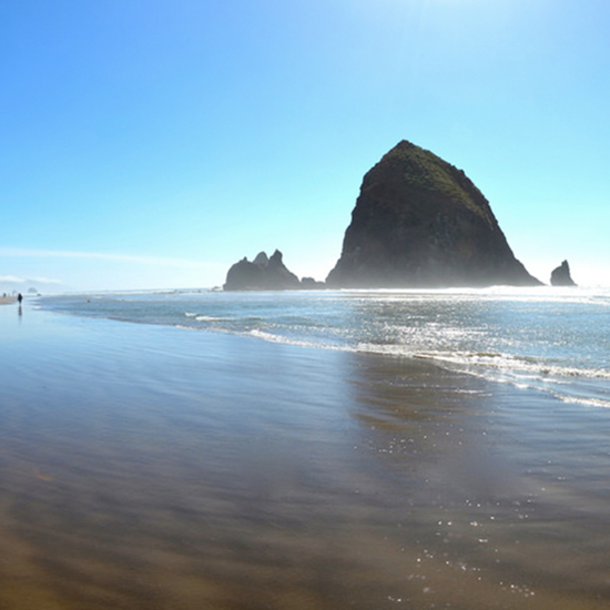 Instead of San Juan Islands, Try Cannon Beach