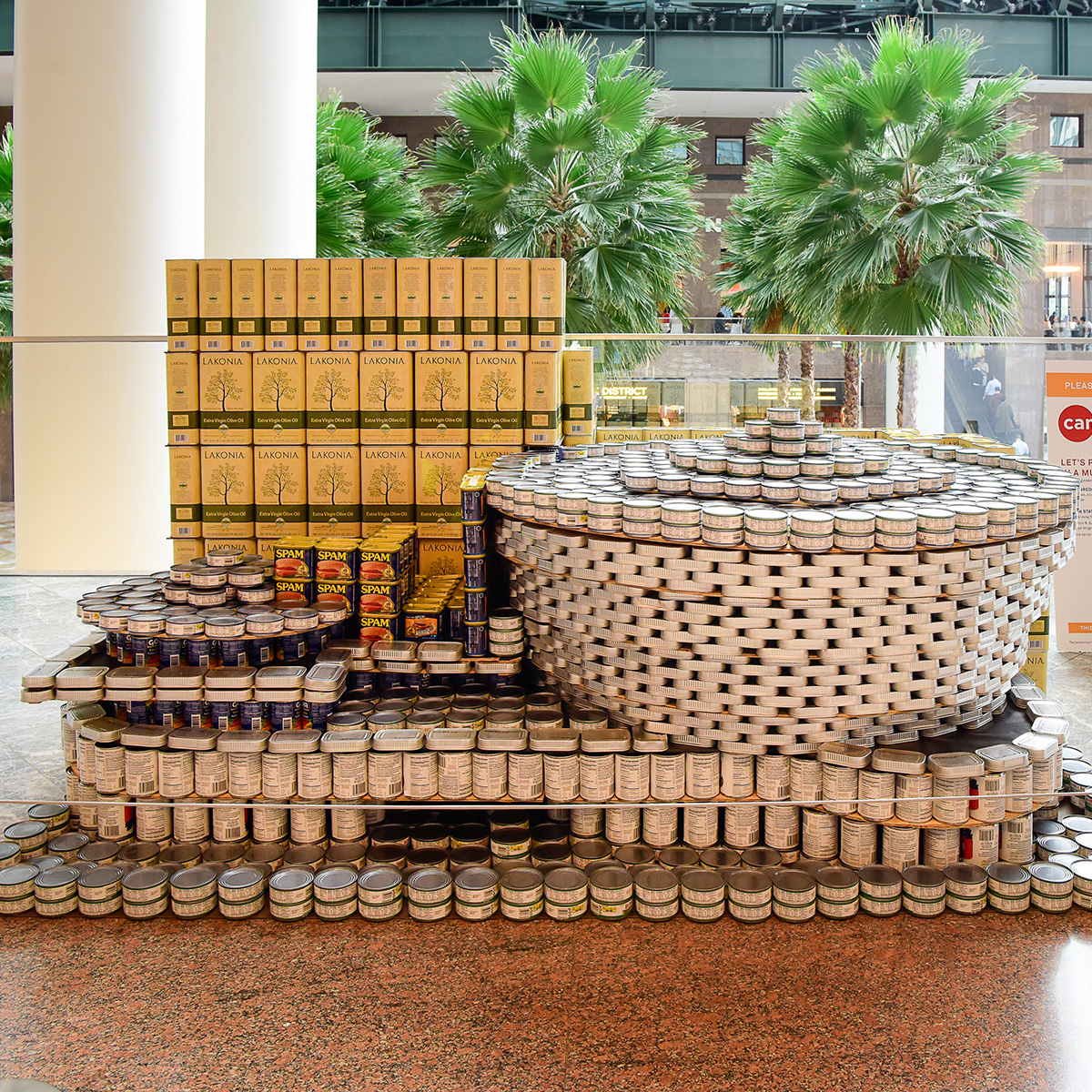Can Art Installation, Brookfield Place