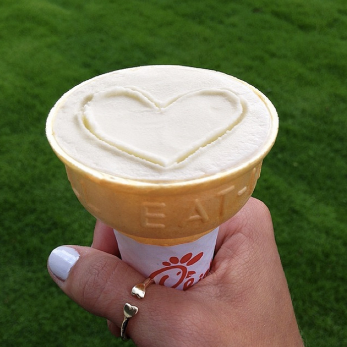We All Scream for Free Ice Cream at Chick-fil-A