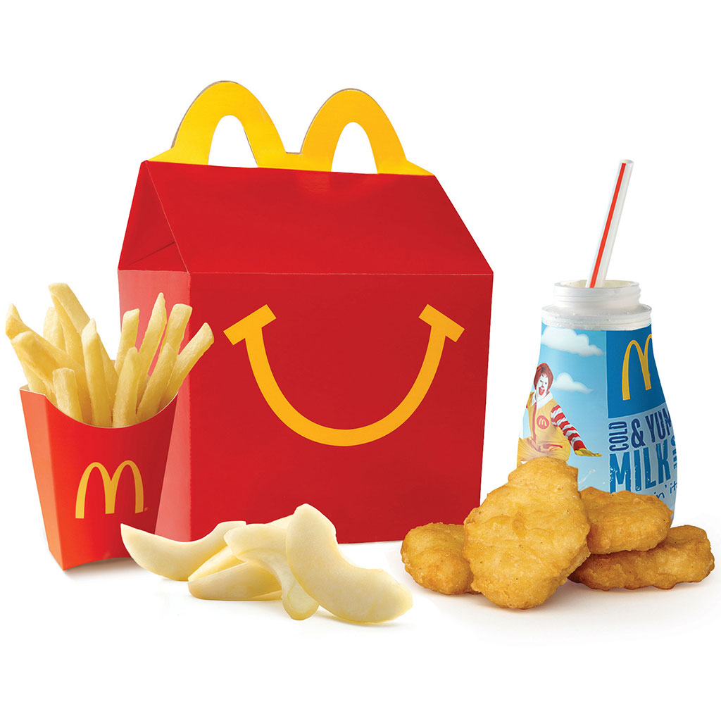 CHICKEN MCNUGGET HAPPY MEAL FWX
