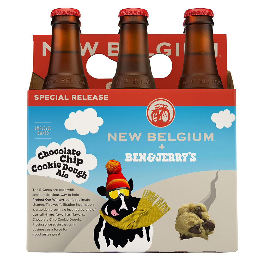 Chocolate Chip Cookie Dough Ale, New Belgium Brewing, Ben & Jerry's