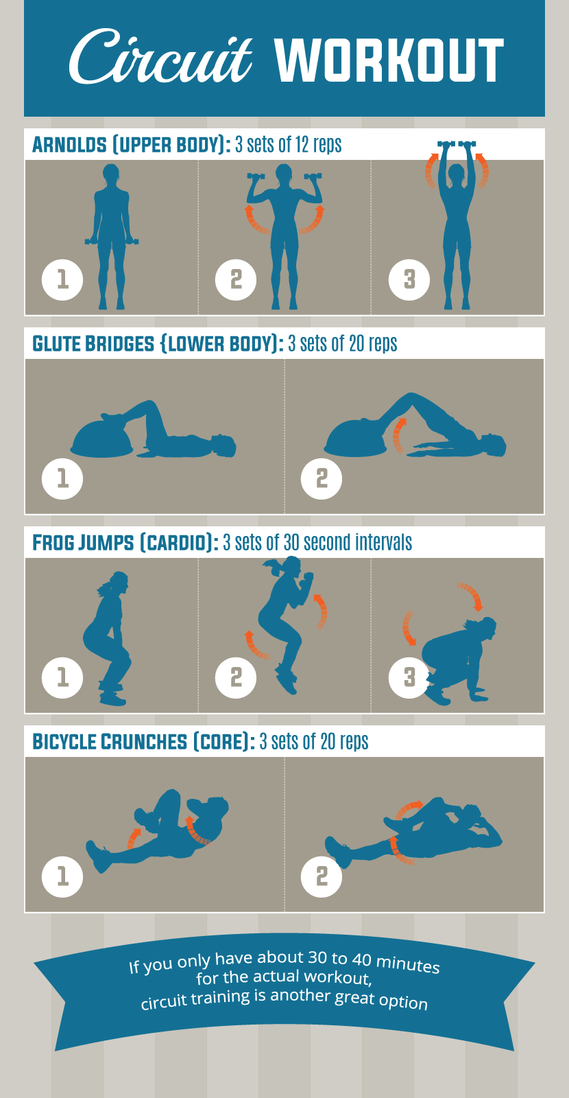 Lunch Time Circuit Workout