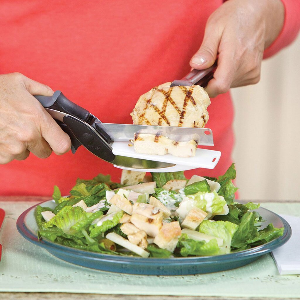 This Handy Tool Is a Knife and a Cutting Board All In One   Food ...