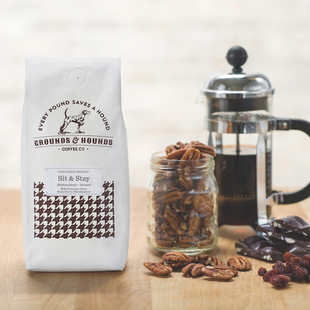 ground and hounds coffee company has a good cause