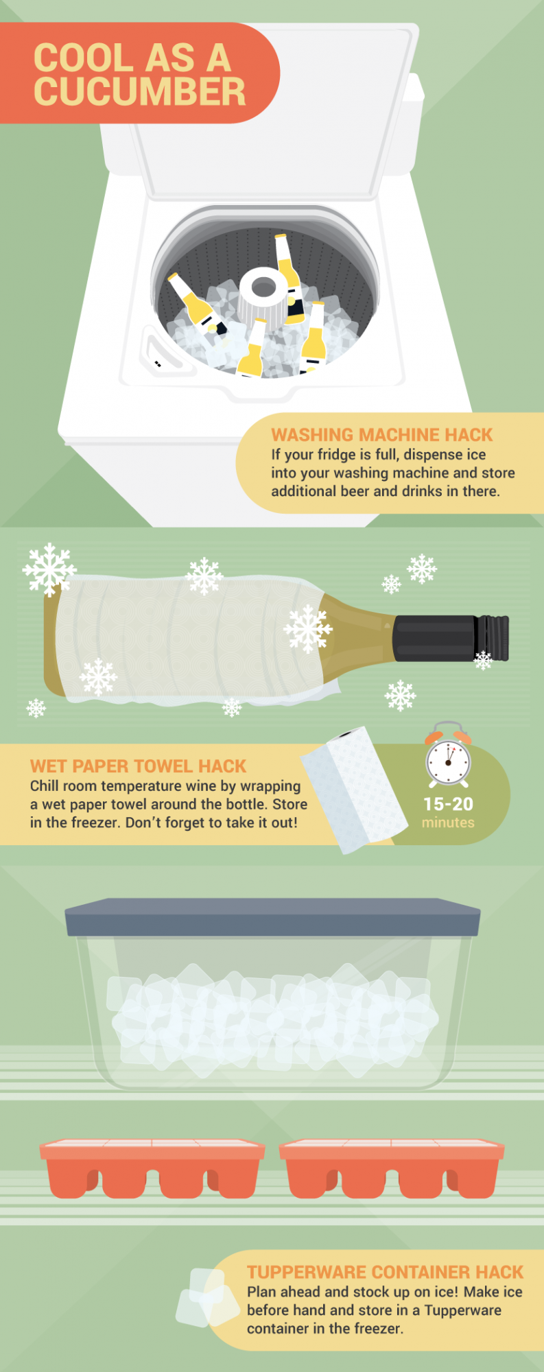Ice Hacks For a Party