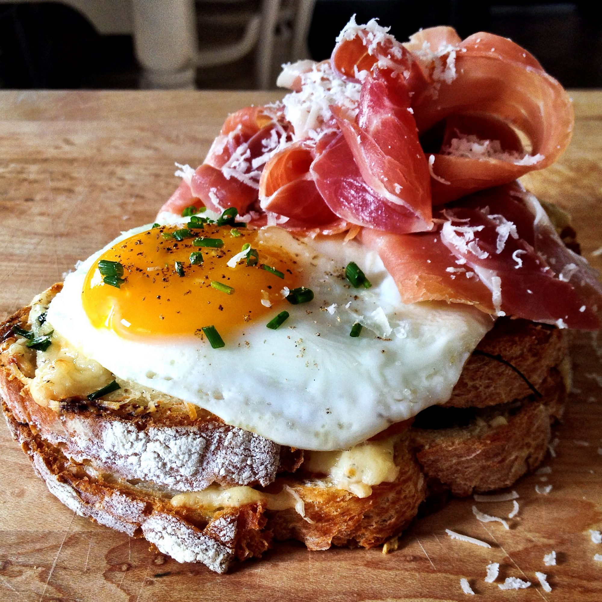 Stacked, eggs, egg recipes, croque madame
