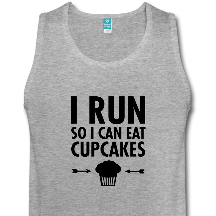 runner, gift, gift guide, cupcake, tank top