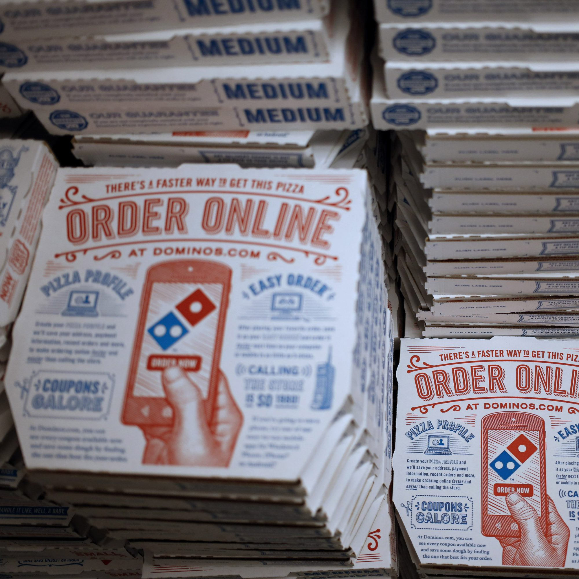 Domino's Pizza Now Has a Wedding Registry