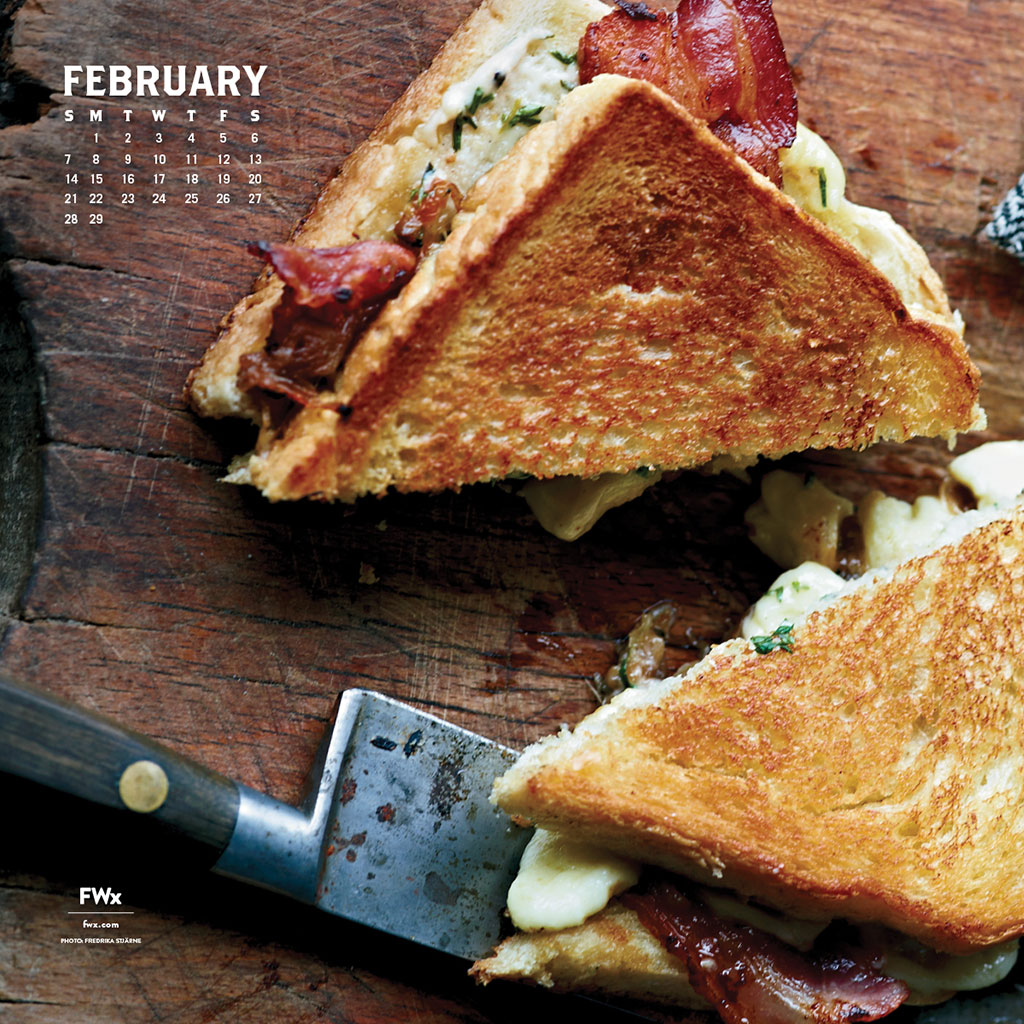 FEBRUARY WALLPAPER FWX