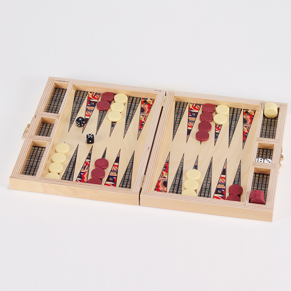 Wolfum Backgammon Travel Set