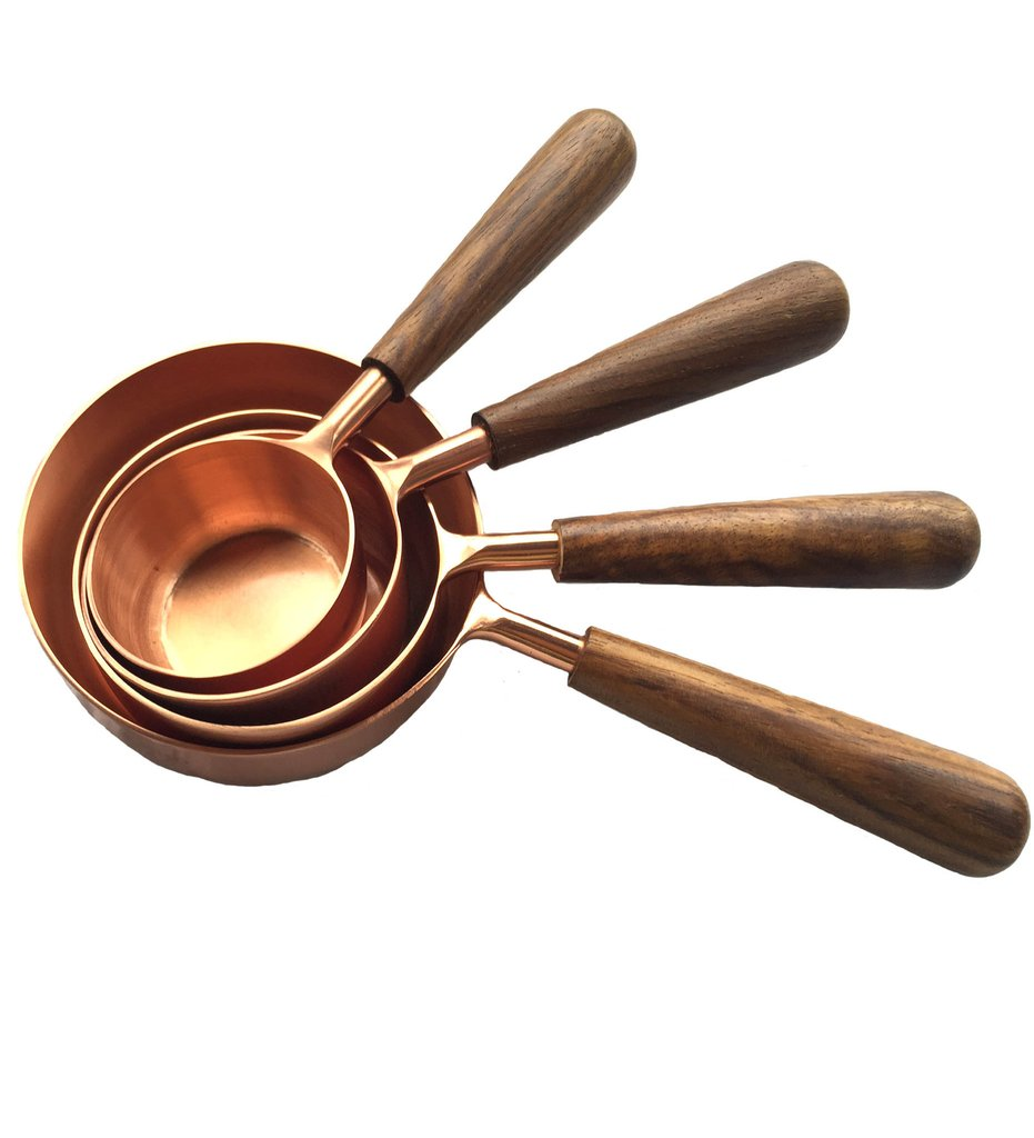 food gifts copper measuring cups