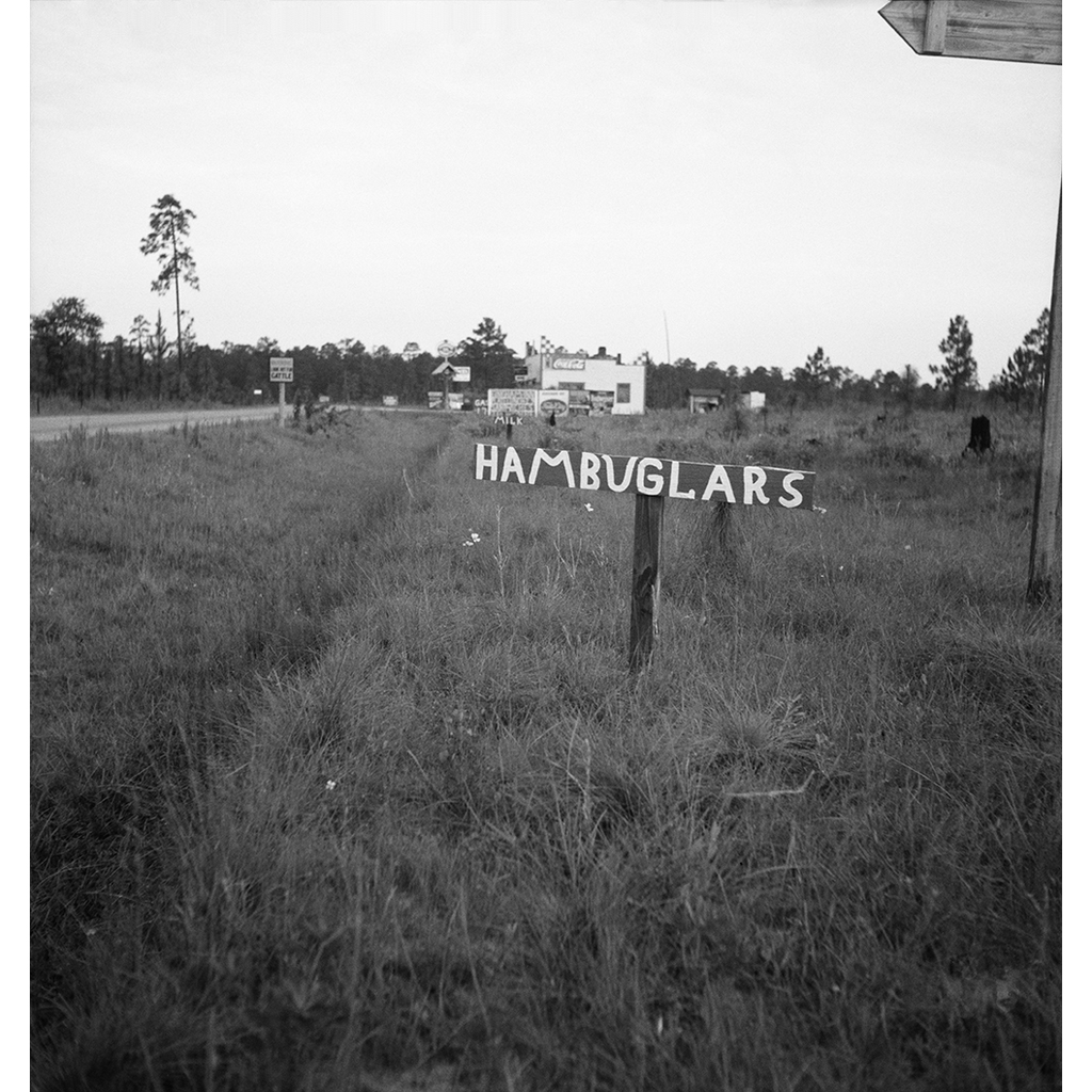 Georgia Road Sign – Dorothea Lange