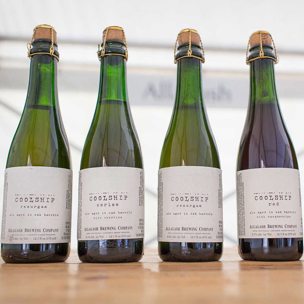 FWX ALLAGASH COOLSHIP BEERS 1