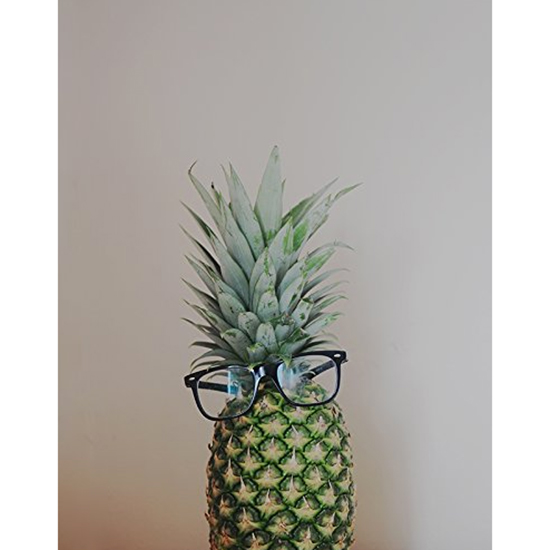 Pineapple Wearing Glasses Print