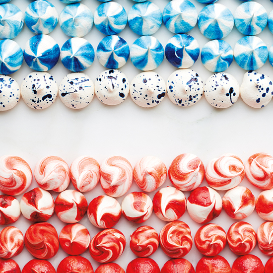 FWX APRTNER INSTYLE 4TH OF JULY MERINGUES