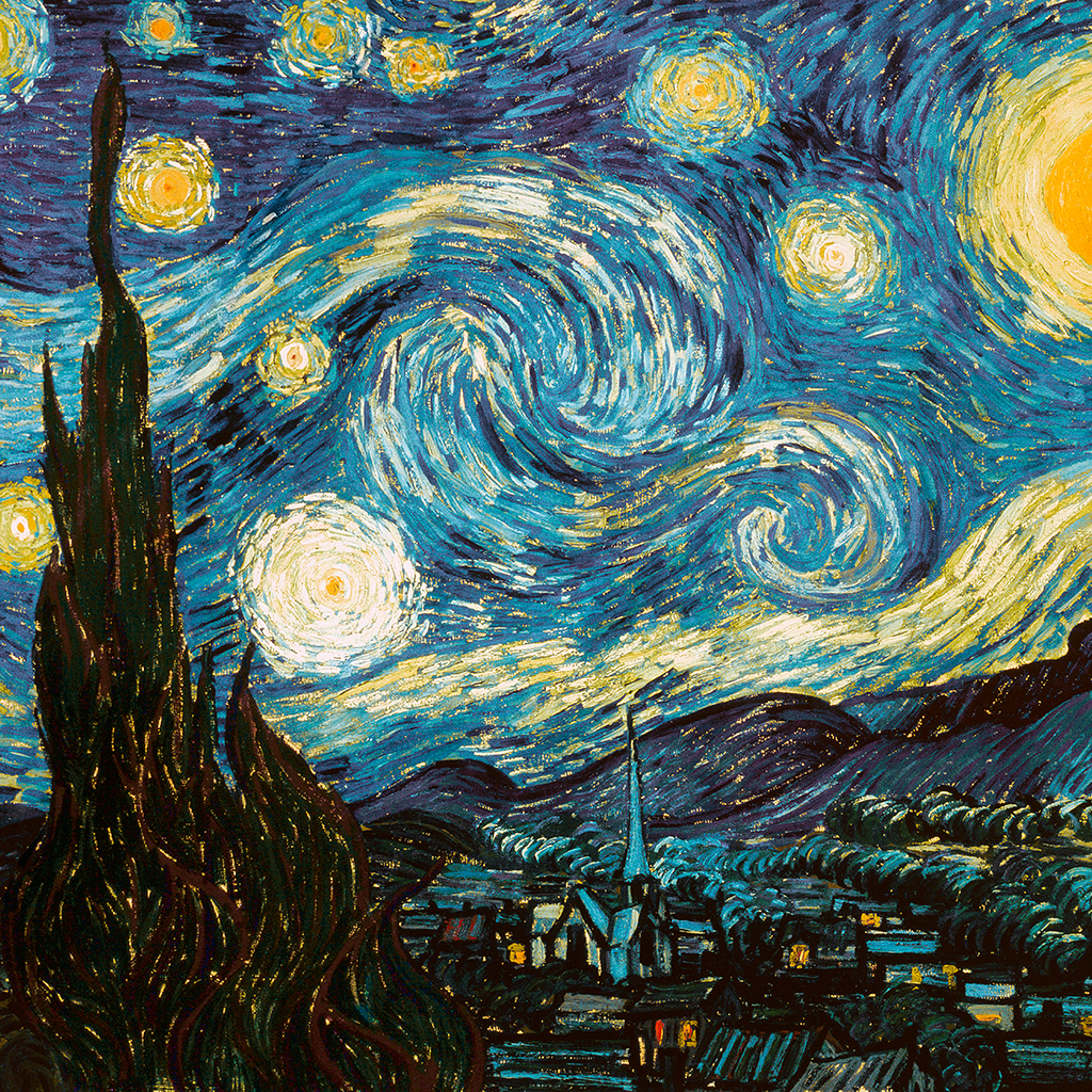 FWX ART CAKES STARRY NIGHT CROPPED