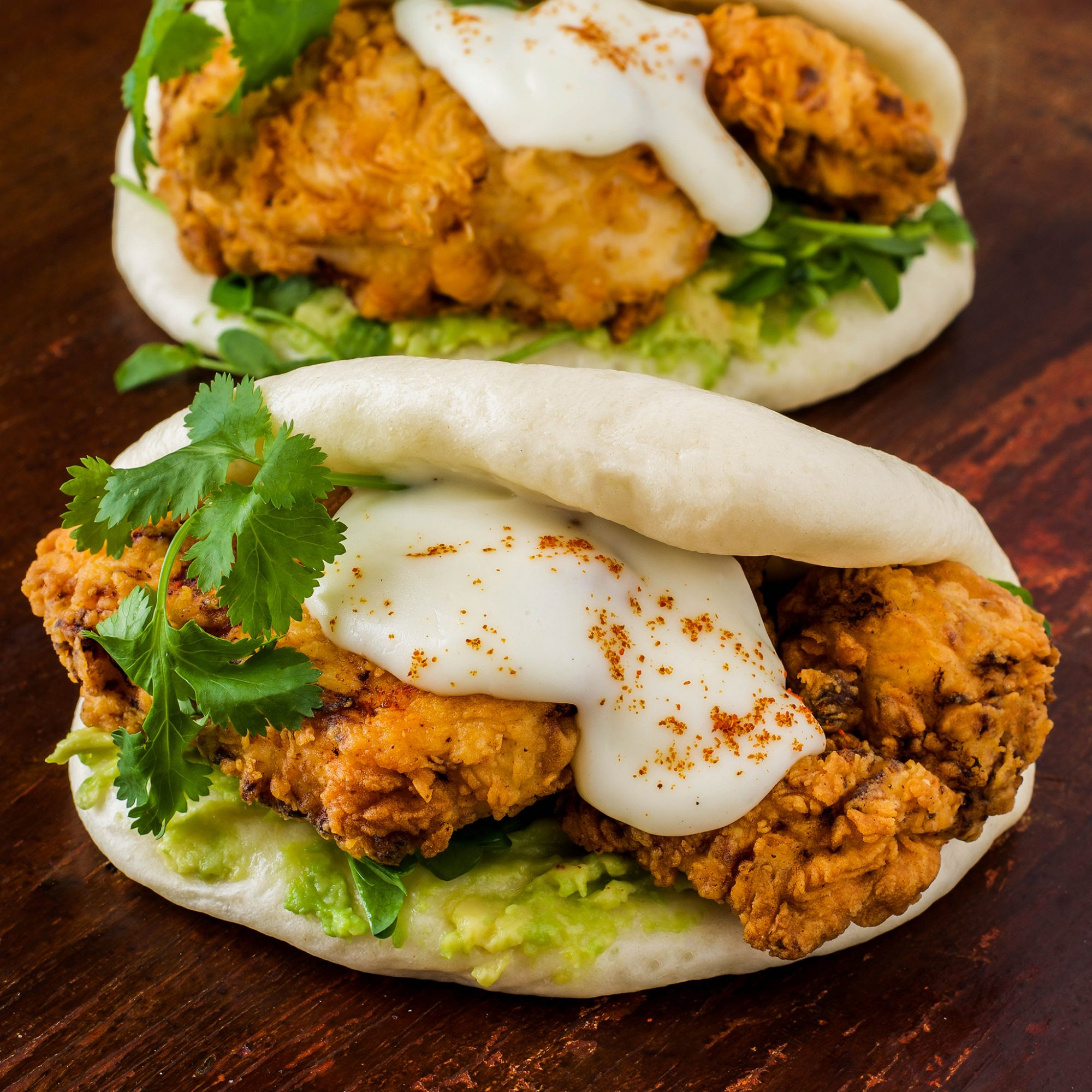 FWX BUTTERMILK FRIED CHICKEN STEAM BUNS