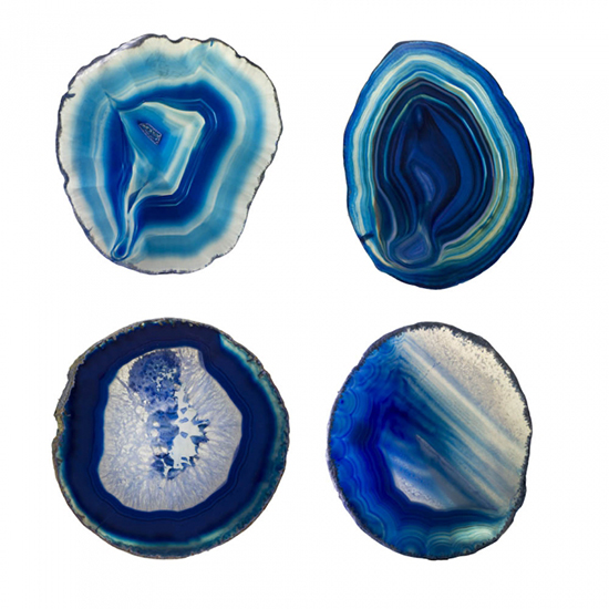 Agate Coaster Set