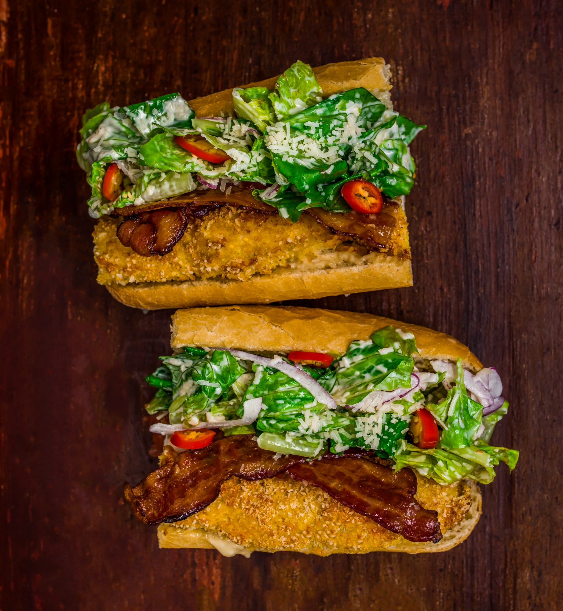 FWX CHICKEN CAESAR SANDWICH