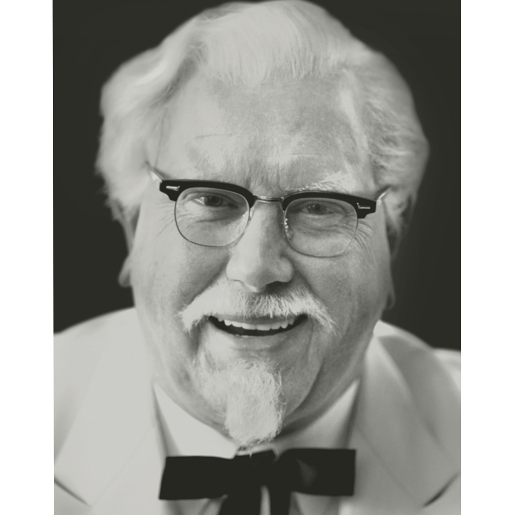 FWX DARRELL AS COLONEL SANDERS