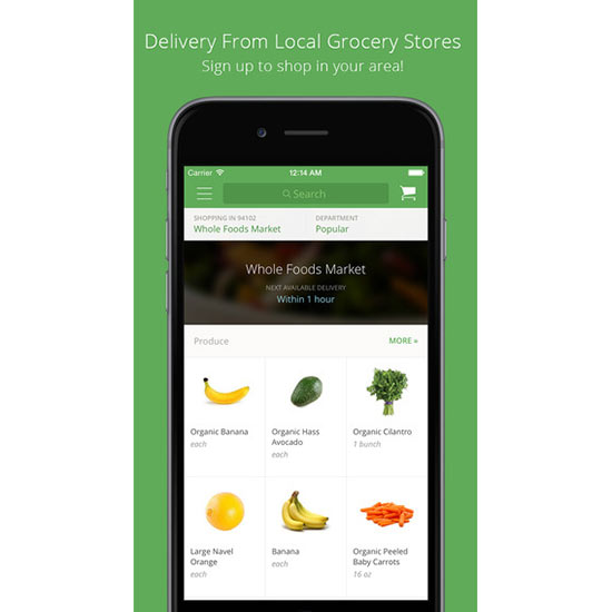 FWX DOMAINE BEST CHORE APPS INSTACART