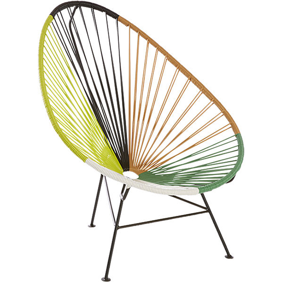 CB2 Acapulco Outdoor Lounge Chair
