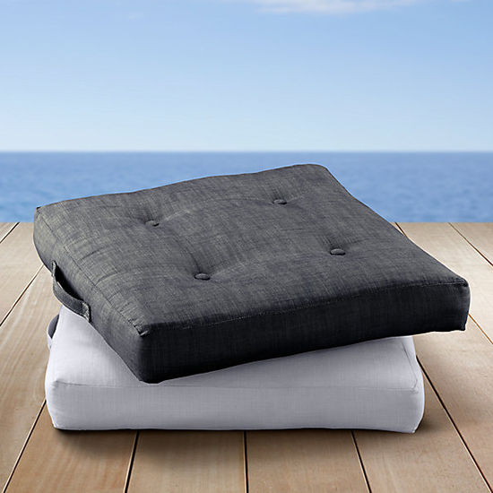 Restoration Hardware Outdoor Floor Pillow
