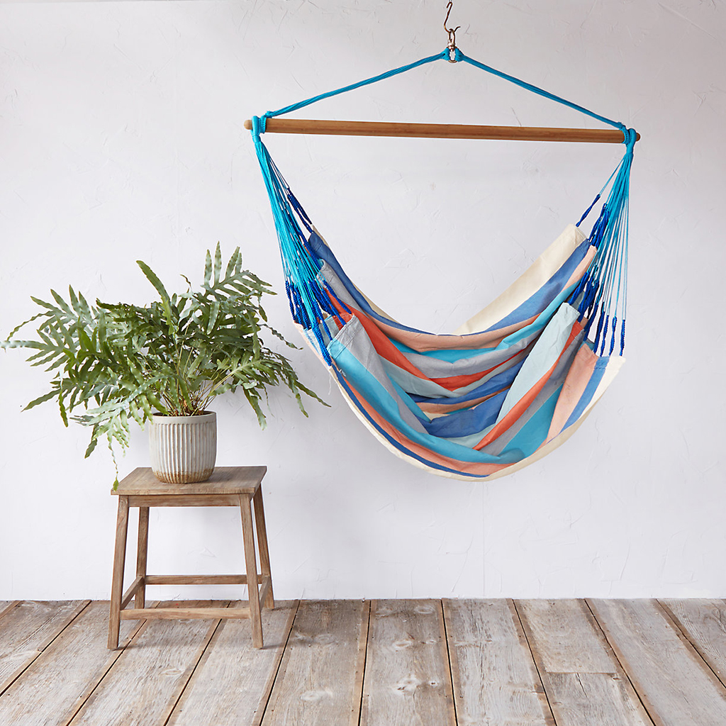 Stripped Hammock Chair