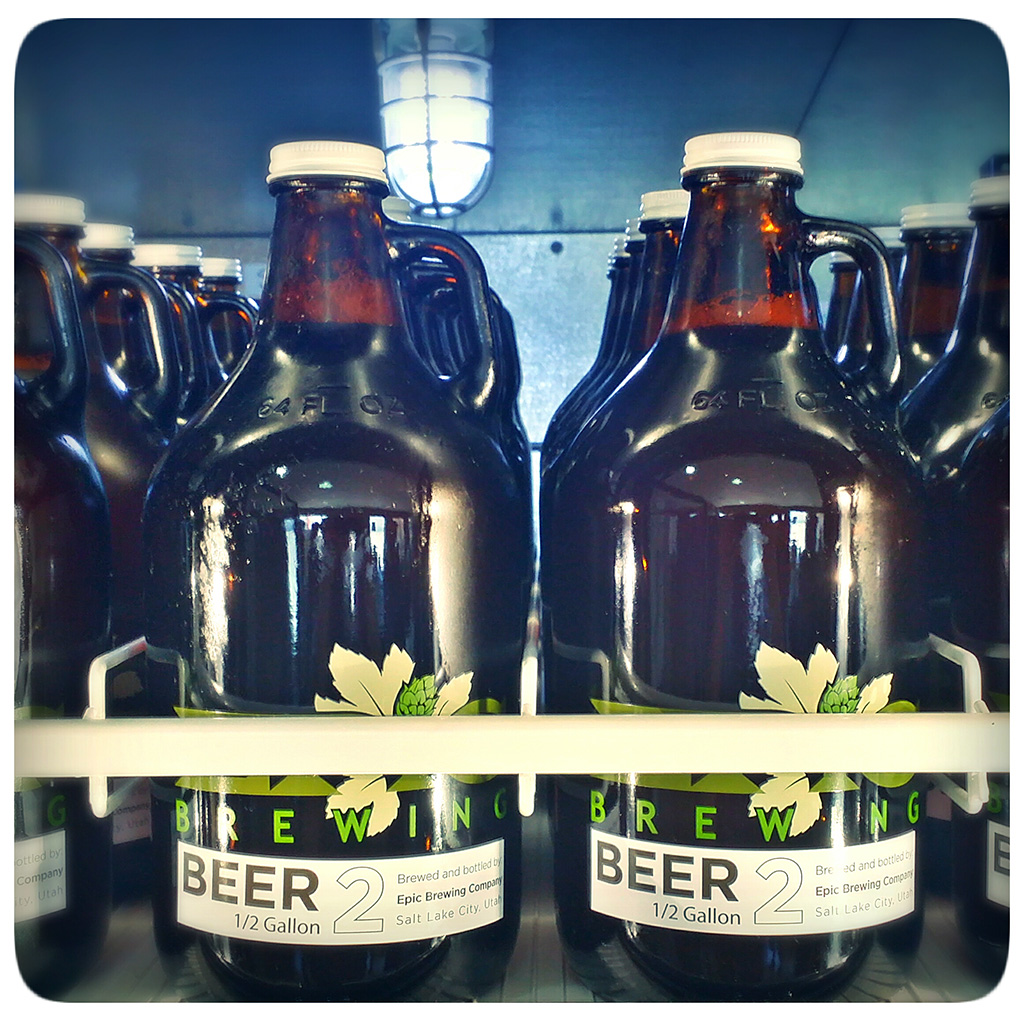 FWX EPIC BREWING CO GROWLERS 2