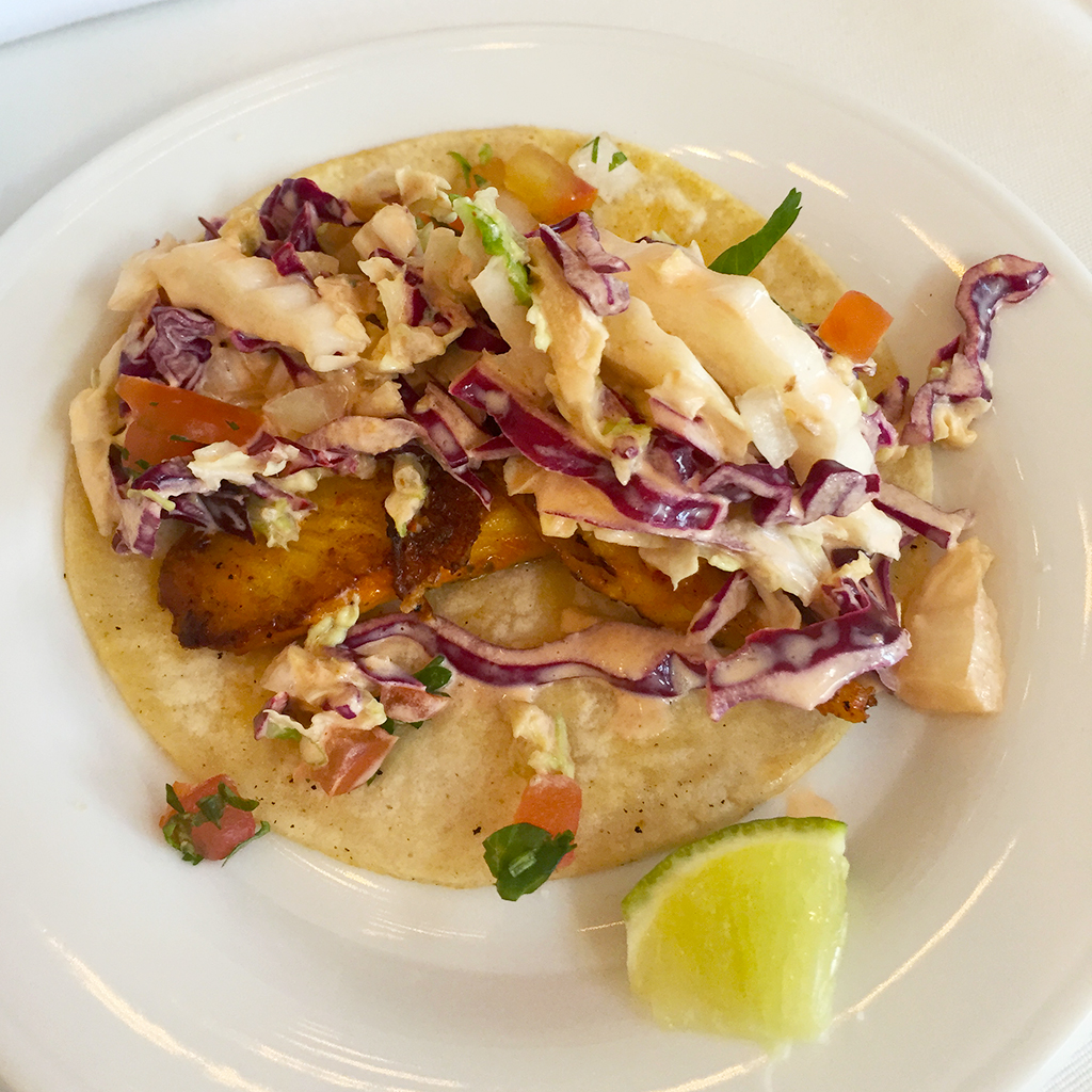 Seared Baja Fish Tacos
