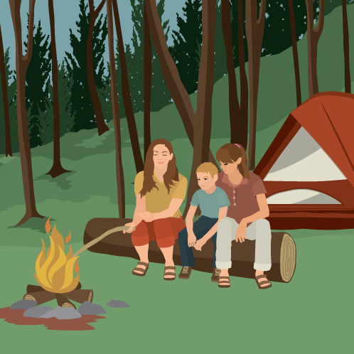Camping Mishaps