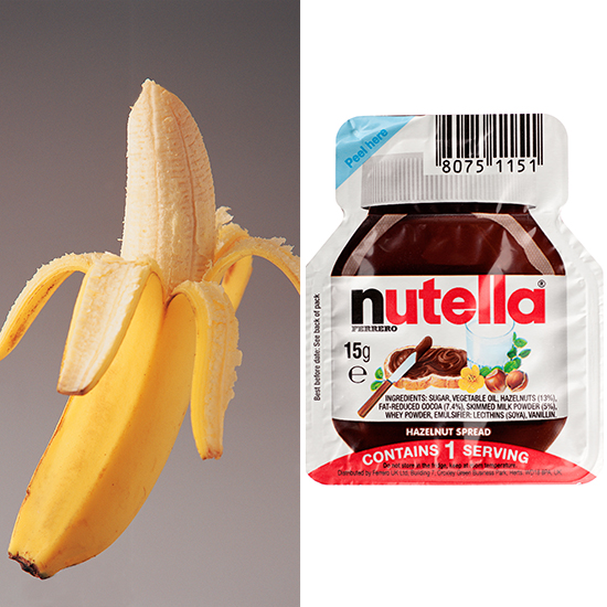 1. $2 Banana & Nutella