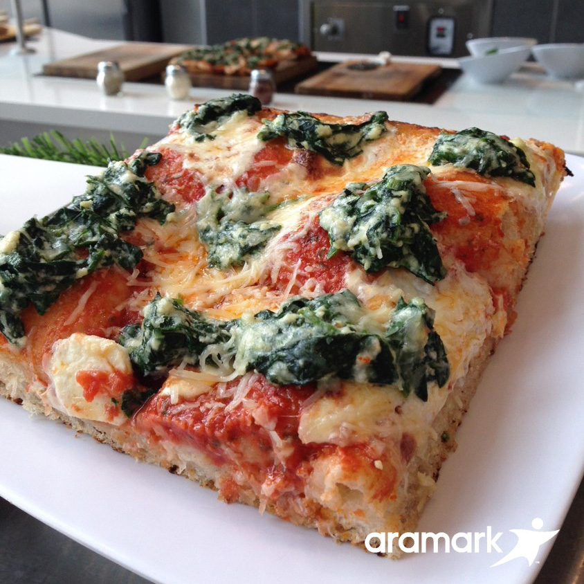 Marc Vetri's Vegetarian Pizza Slices (Lincoln Financial Field, Philadelphia)