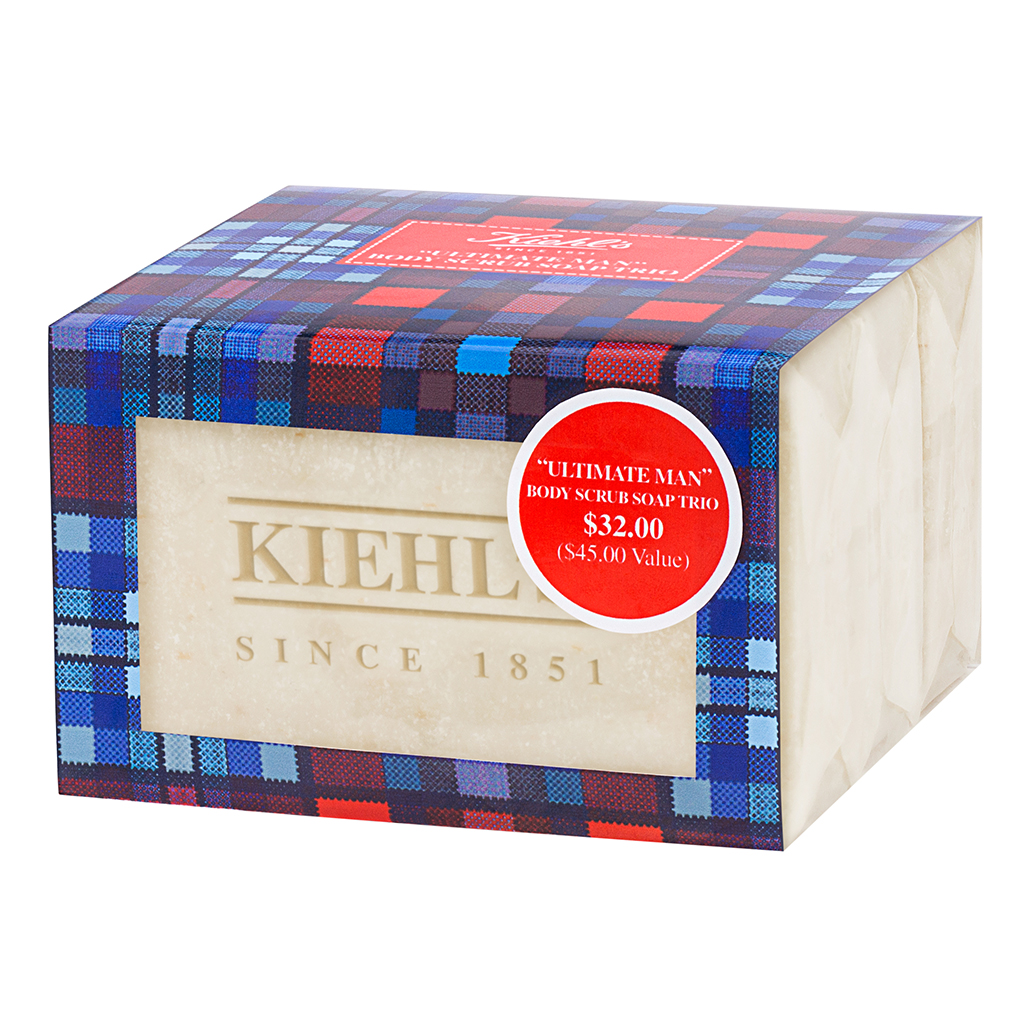 "Kiehls ""Ultimate Man"" Body Scrub Soap"
