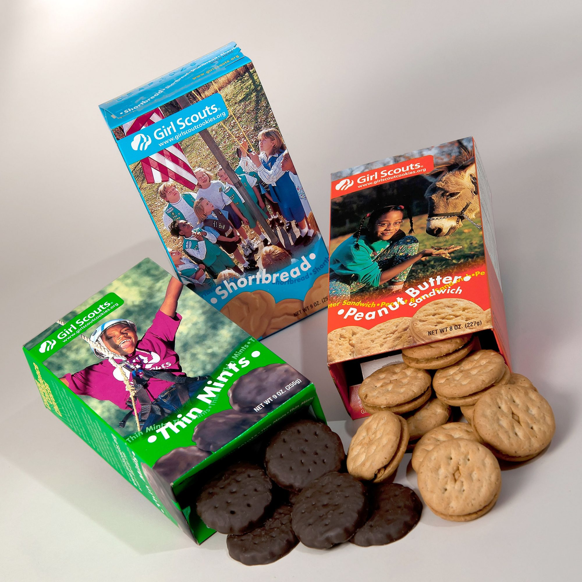 FWX GIRL SCOUT COOKIES CHOCOLATE MILK