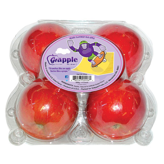 FWX GRAPE FLAVORED APPLES GRAPPLE